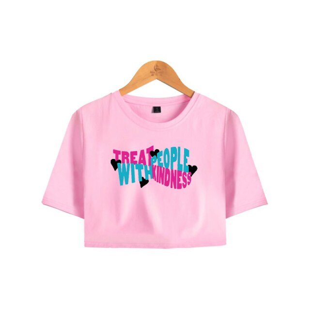 Harry Styles Treat People with Kindness Crop Top