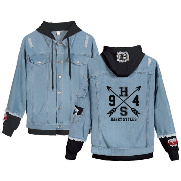 High Quanlity Harry Styles Fine Line Denim Jacket For Women and Men
