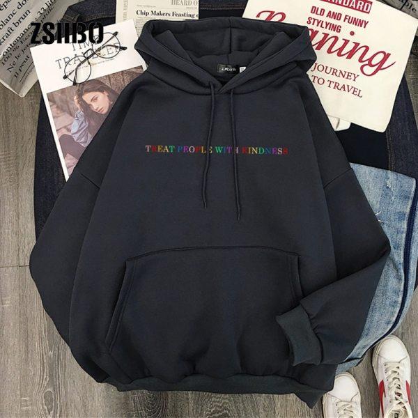Harry Styles Winter Casual Women Hip Hop Hooded Sweatshirt