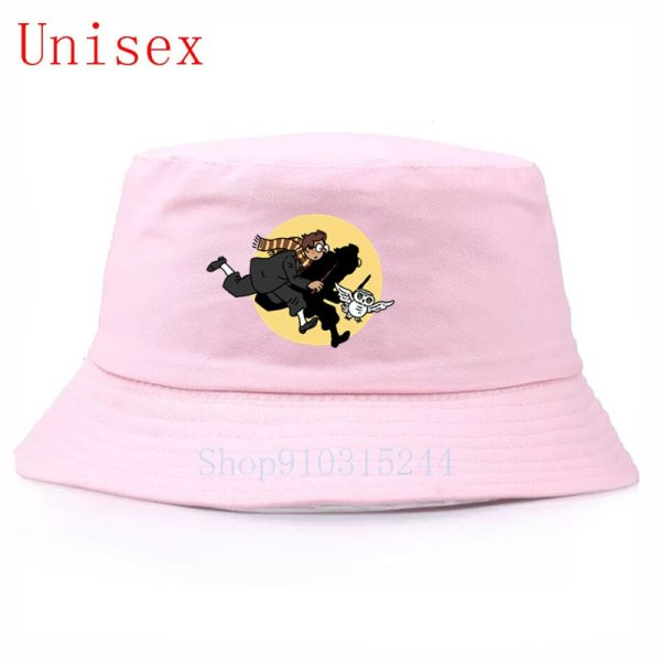 Harry owl fisherman hat hip hop panama capgorro hip hop women's hats