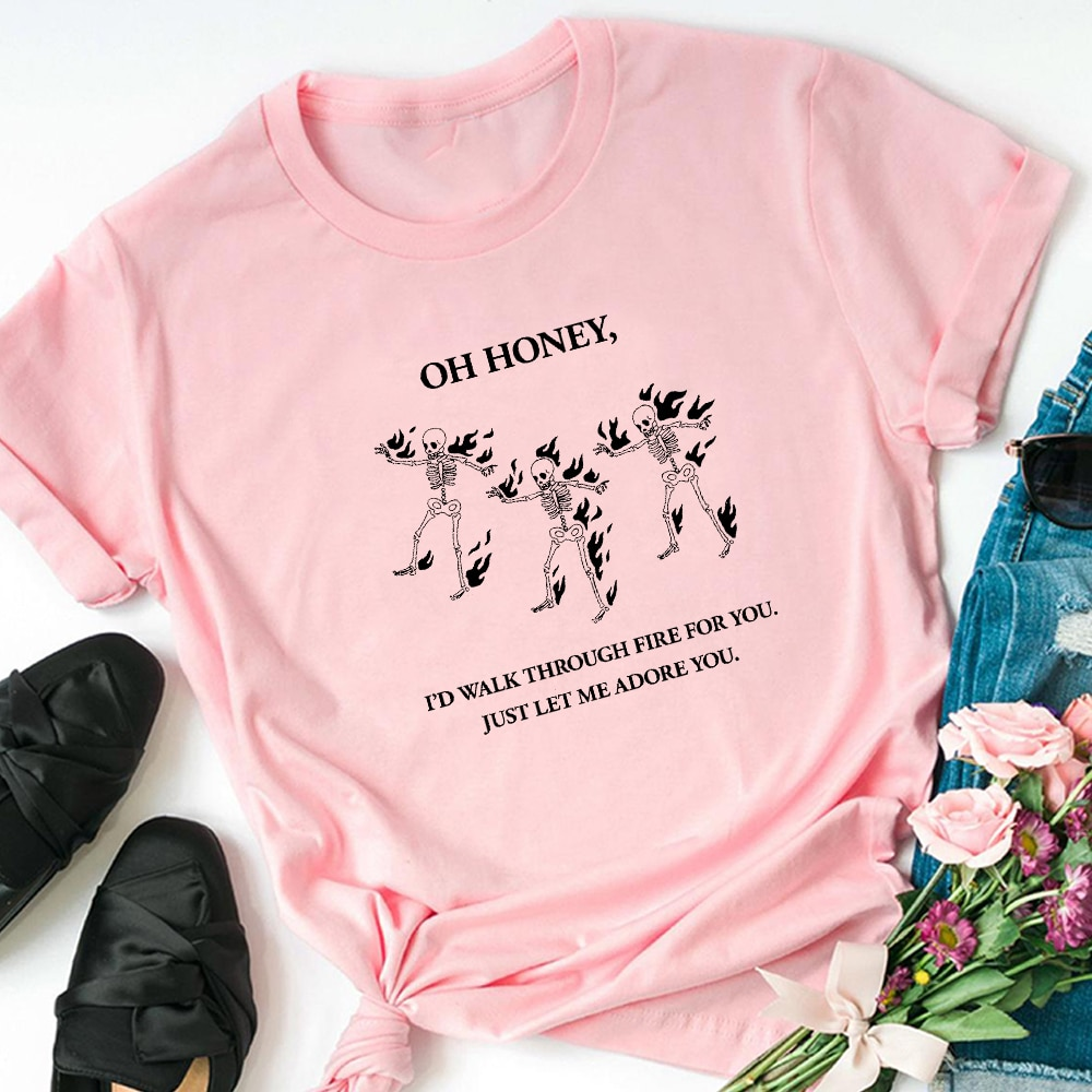 Harry Styles Cotton Top Printed Women T Shirts