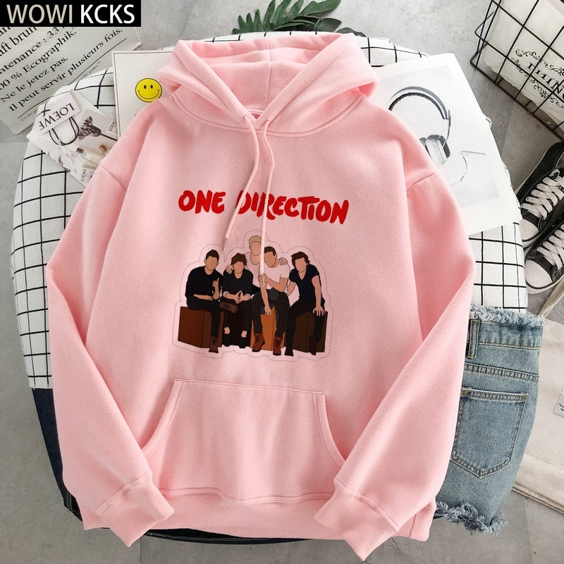 Winter One Direction Pullover Harry Styles Merch Sweatshirt Oversized Hoodie Clothes