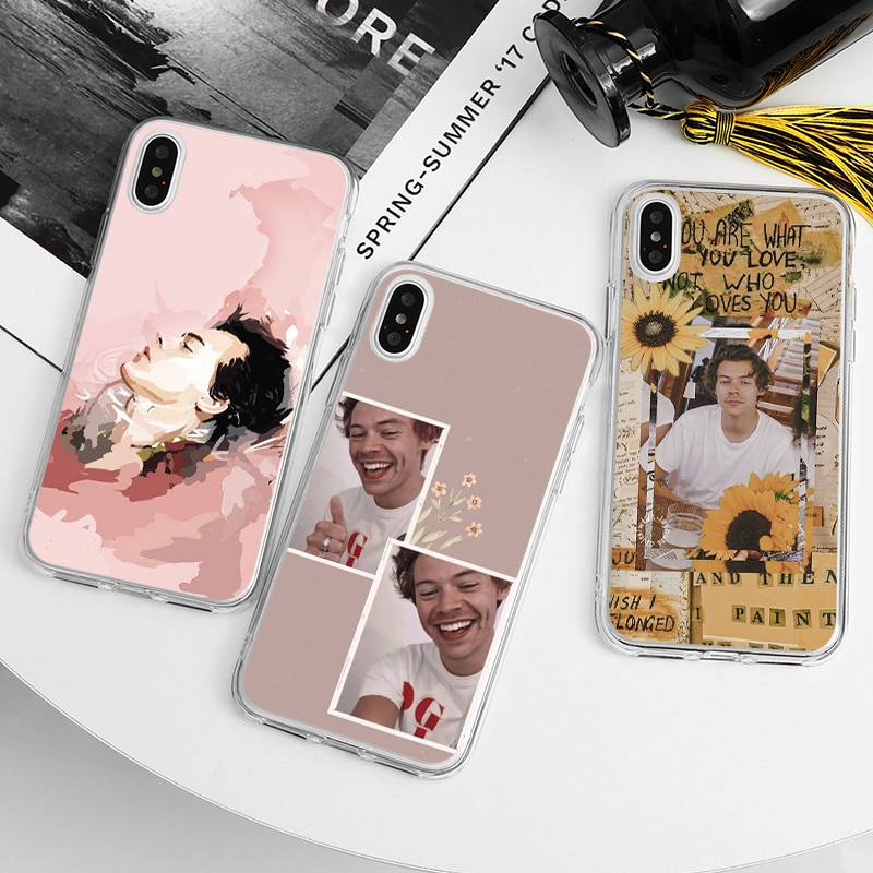 Harry Styles Love On Tour Phone Case For iphone 11 12 Mini Pro Max XS Max XR Xs X 8 7 6 6s Plus 5S SE 2020 TPU