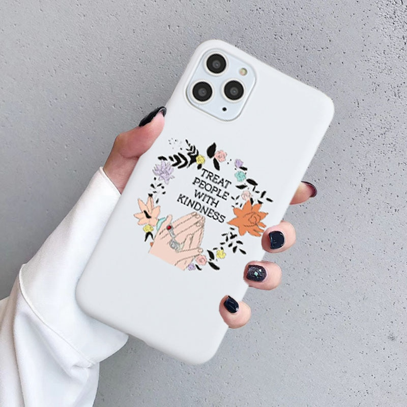 Harry Styles Treat People with Kindness Phone Case for IPhone 11 XR 6 8 7 Plus X