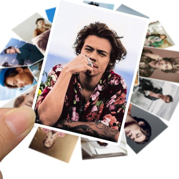 Harry Edward Styles Stickers For Car Laptop PVC Backpack Water Bottle Pad Bicycle waterproof Decal