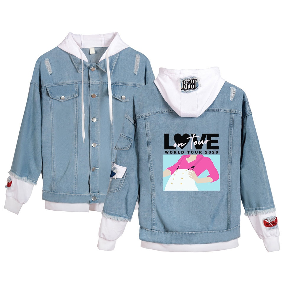 High Quanlity Harry Styles Fine Line Denim Jacket For Women and Men