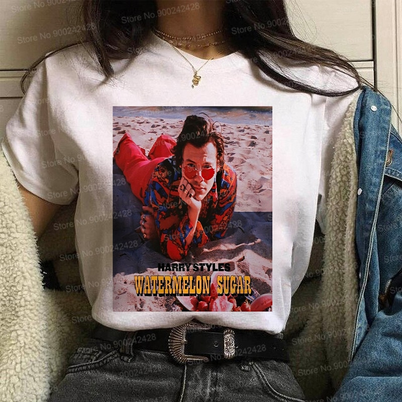 Korean Harry Styles t shirt For women