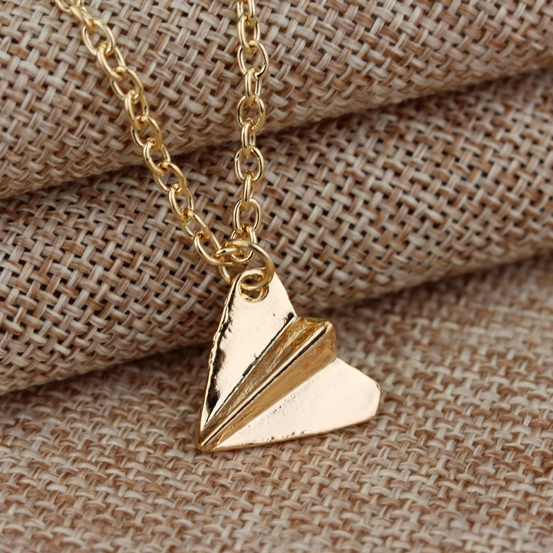 Harry Style Happyfans Paper Airplane Directioner Infinity Chain Pendant Necklace Jewelry