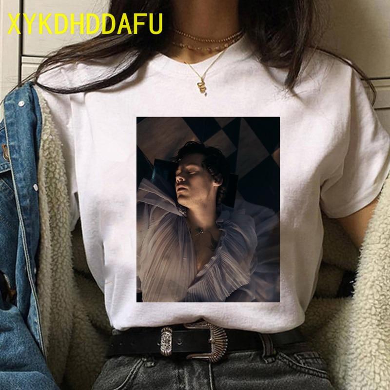 Harry Styles T Shirt Women Fashion Streetwear