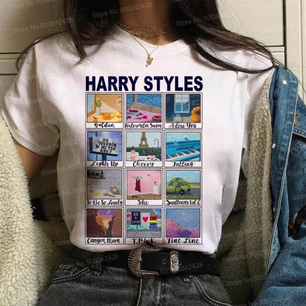 Korean Harry Styles t shirt For women
