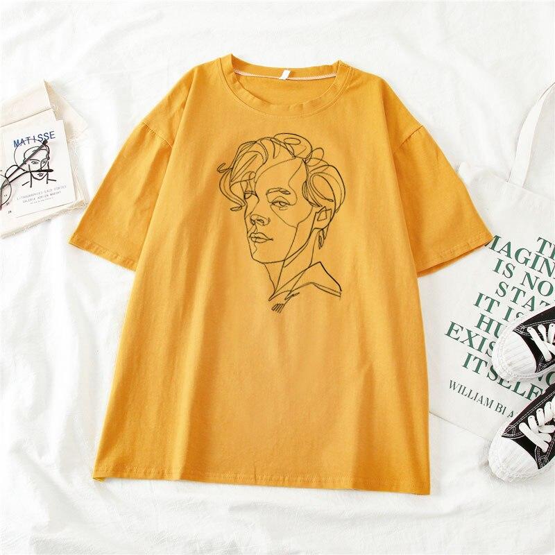 Harry Style Art Painting Women's T-shirt