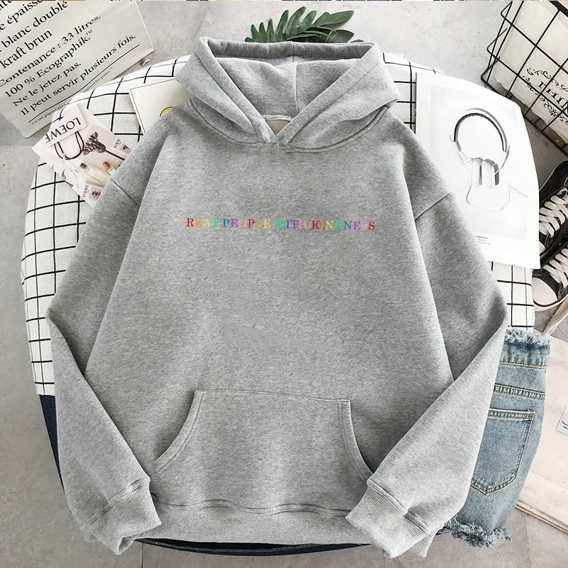 Harry Styles Treat People With Kindness Hooded Sweatshirt For Women