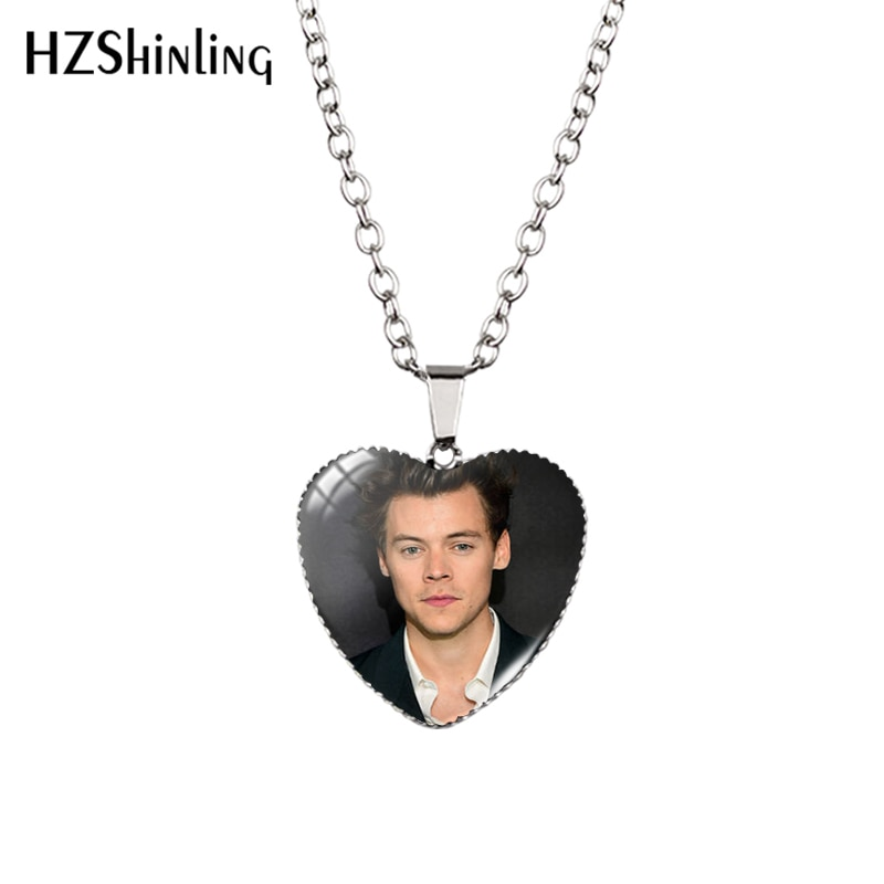 New Harry Styles Love On Tour 2020 Heart Necklace Jewelry Glass HZ3