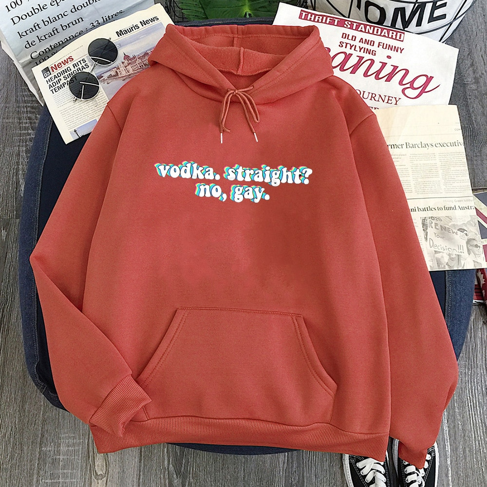 Harry Styles Sweatshirt Vodka Straight Women Hoodies