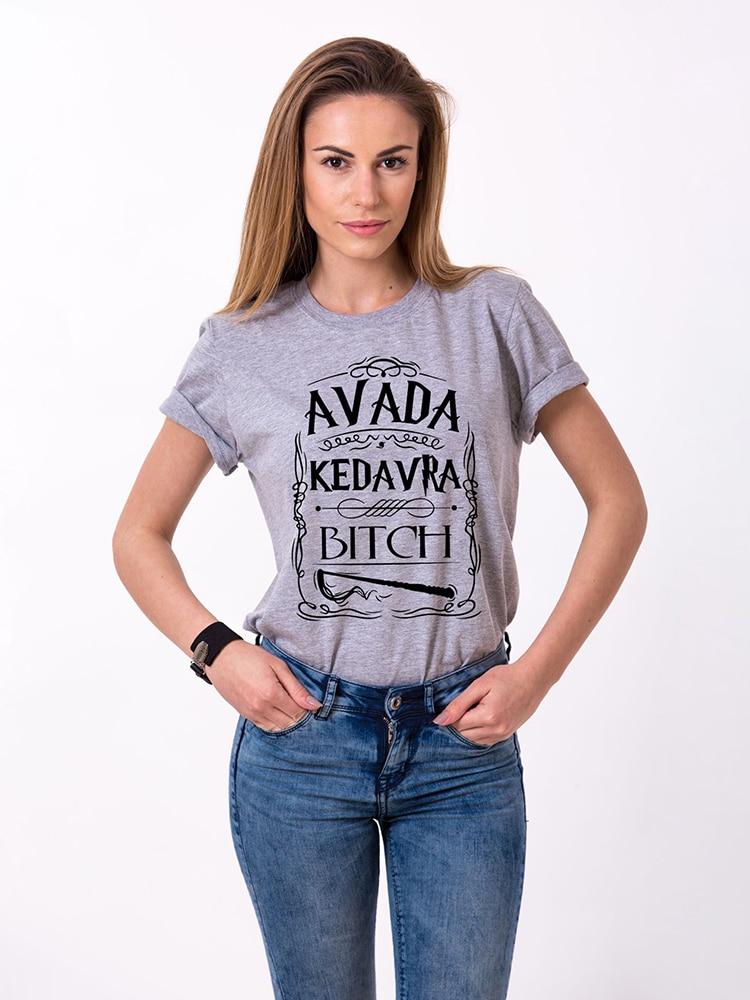 Avada Kedavra Bitch Harry Style T-Shirt Women