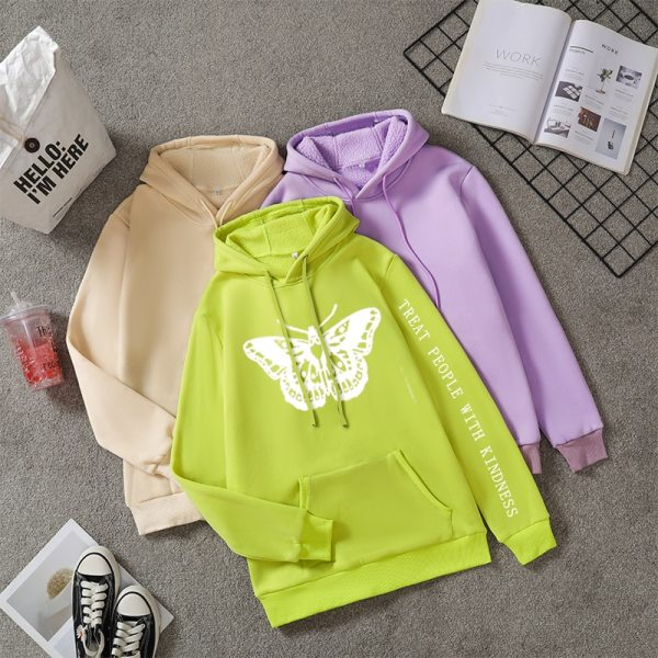 Harry Styles Butterfly TPWK Sweatshirt Hoodies For Women