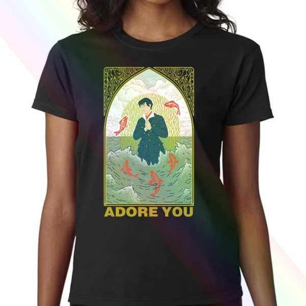 "Harry Styles ""Adore You"" Black Mug Women T-shirt"