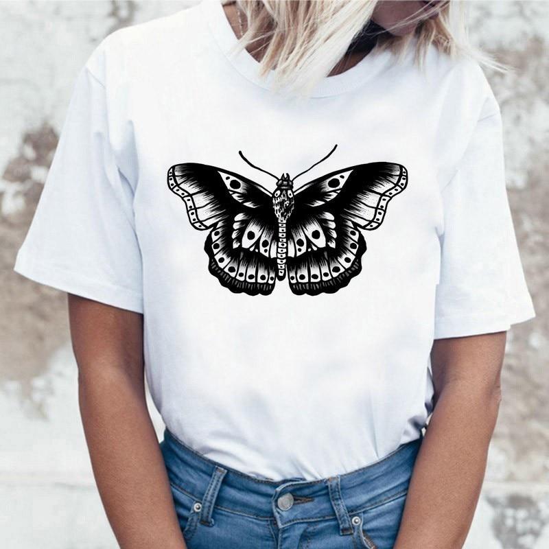Harry Styles for rolling stone 2020 fashion short sleeve tshirt kawaii women streetwear Top Tee
