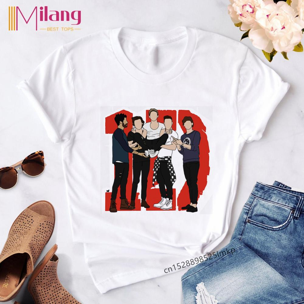 Harry Styles One Direction Streetwear T-shirt