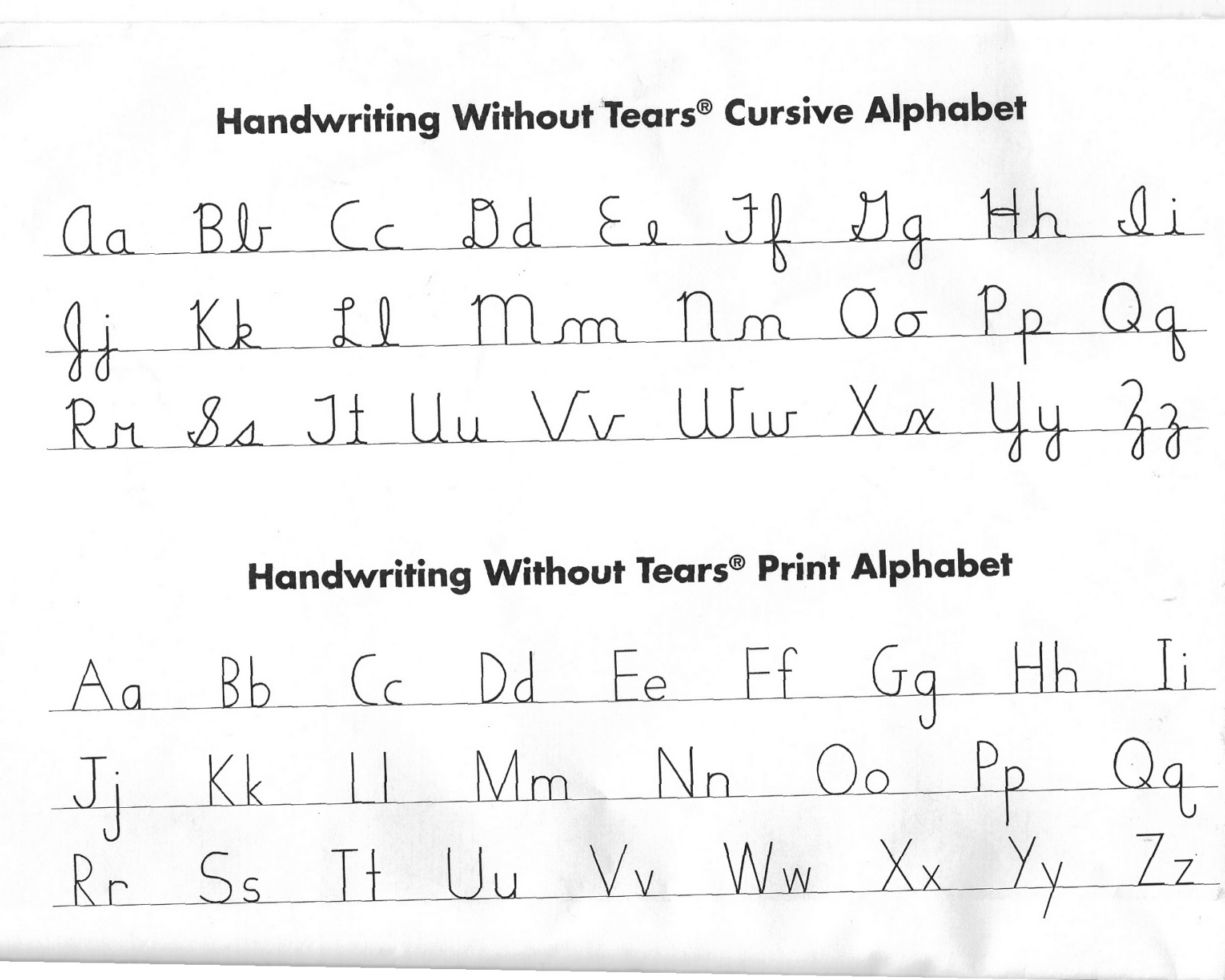 Cursive Or Print In Everyday Writing Fountainpens