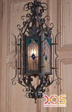 Lampu Besi Tempa Antik (42)