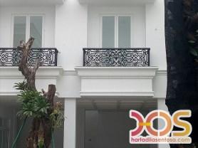 Railing Balkon Besi Tempa Klasik Mewah Modern (108)