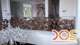 Railing Balkon Besi Tempa Klasik Mewah Modern (109)