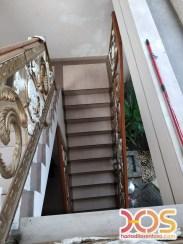 Railing Balkon Besi Tempa Klasik Mewah Modern (99)