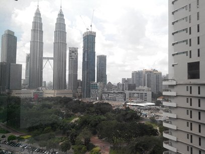 Stonor Park KLCC View Balcony