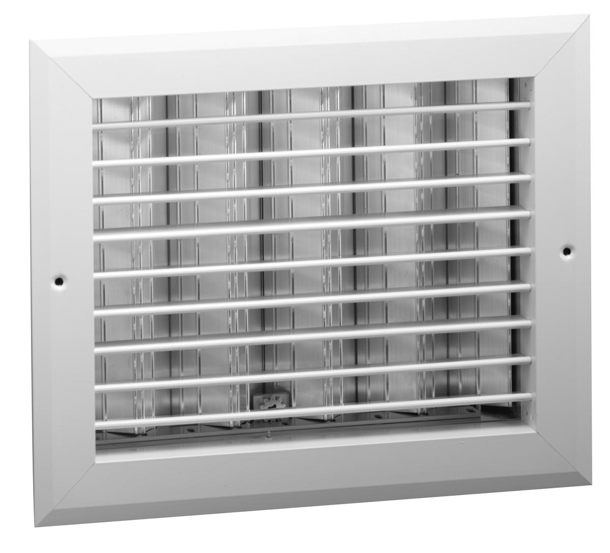HD  Aluminum Register Adj Horizontal Blades with OBD