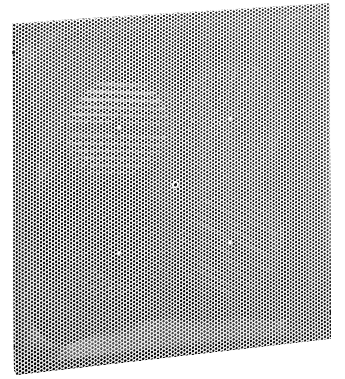 PDSD  Steel Perforated Supply Diffuser with Adjustable