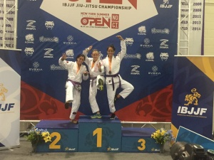 Congrats to IBJJF Purple Belt Champion, Courtney Caporizzo!
