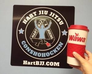 Morning WAWA Coffee and Conshocken BJJ Morning Training