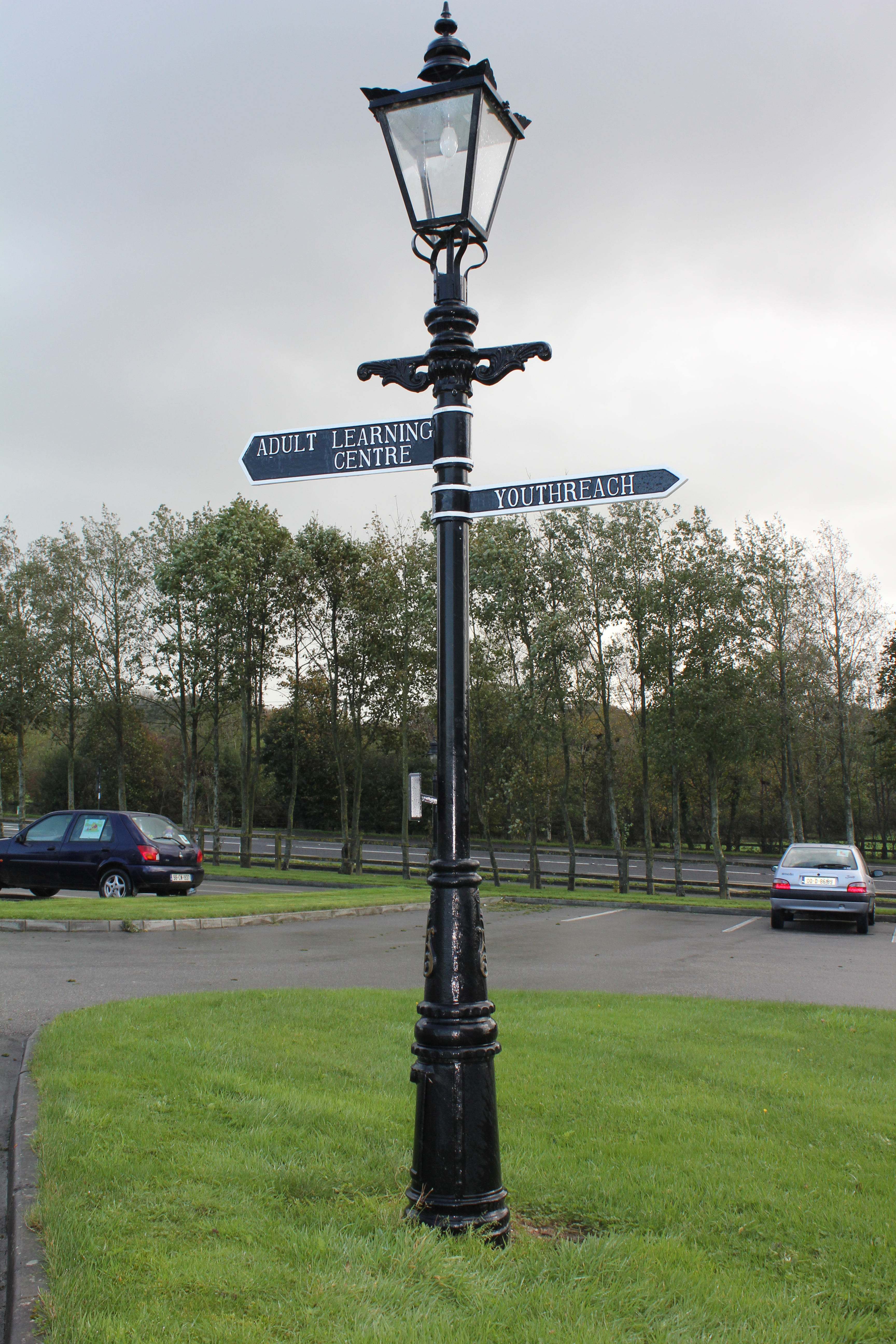 Sign Poles  Signs  Harte Outdoor Lighting