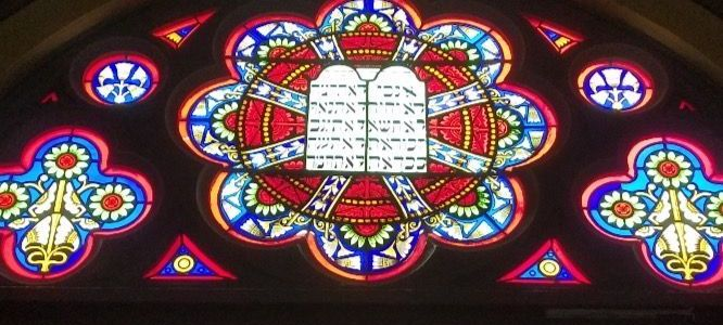 The Rose Window of the Charter Oak Cultural Center