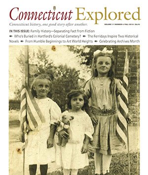 Cover of Connecticut Explored, Fall 2019 issue