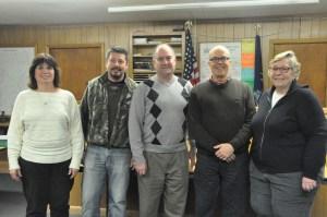 2014 Town Board Elizabeth Foote, Michael Deyoe, Dana Haff, Robert Dillon, Barbara Beecher