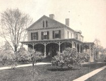 R. D. Hubbard residence (photo: Connecticut Quarterly 1895)