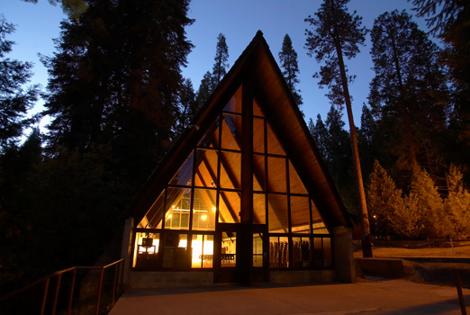 Sequoia Chapel  Hartland Christian Camp