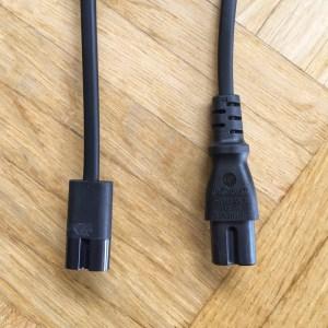 Altes und neues Kabel im Vergleich