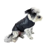 Featherlite Packable Down Dog Coat in Black