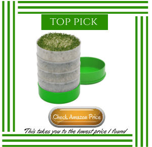 Best price on sprouter from Amazon. #microgreens #indoorgardening #containergarden