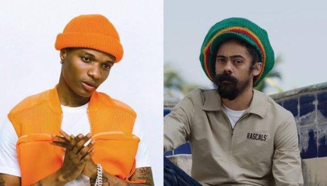 Wizkid with Marley on MIL album