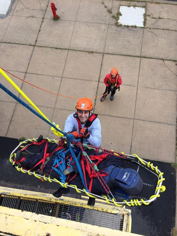 Multiple Hartsdale Members Complete Rope Rescue Operations