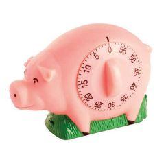 Pig Kitchen Utensil Crock Eddingtons Novelty Timer Harts Of Stur