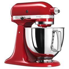 Red Kitchen Aid Mixer Remodling Kitchenaid Artisan Empire Food Ksm125ber Harts Of Stur 125