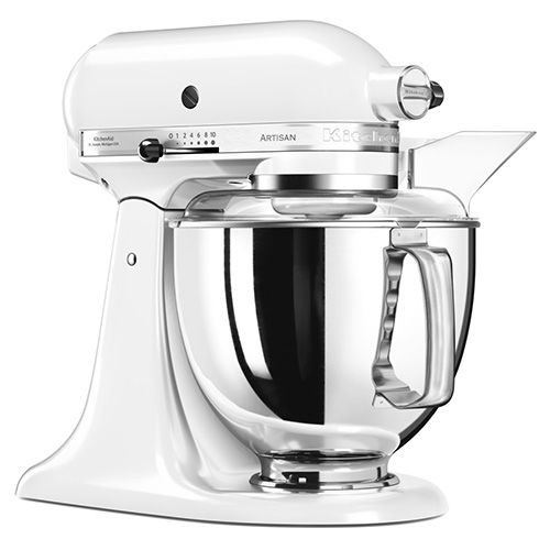 white kitchen aid az cabinets kitchenaid artisan food mixer ksm175pswh harts of stur 175 with free gift