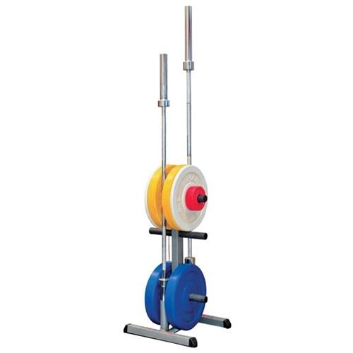 hart olympic weight tree bar rack