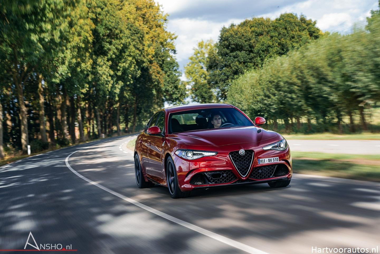 Rijtest: Alfa Romeo Giulia QV [Thijs Timmermans Special] | Hartvoorautos.nl