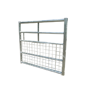 Metal gate 5 bar half mesh